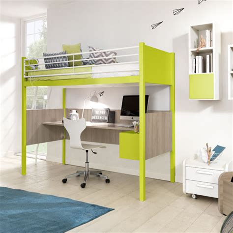 l shaped bunk beds with desk modern and contemporary furniture at belvisifurniture
