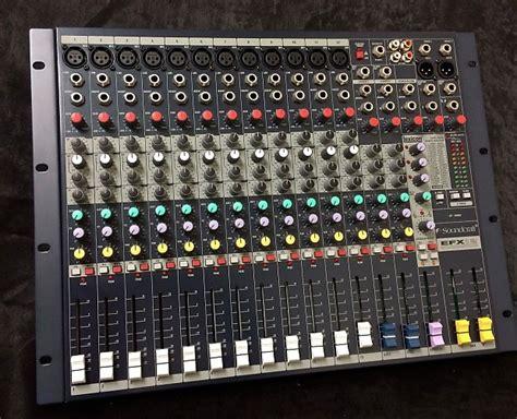 Mixer Audio Soundcraft Efx84usb soundcraft efx12 console k us 12 channel mixer console reverb