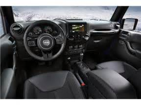 Interior Jeep Wrangler 2017 Jeep Wrangler Interior U S News World Report