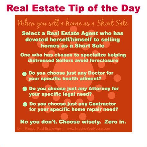 real estate tip of the day selling home as a sale