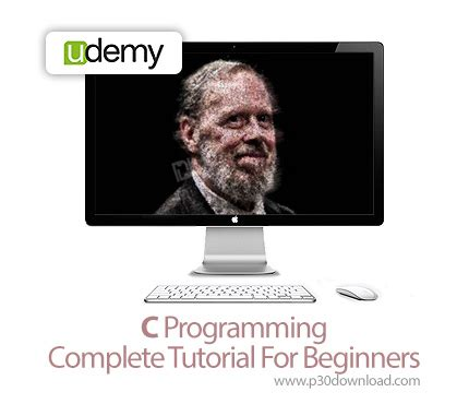 c programming tutorial for beginners دانلود udemy c programming complete tutorial for