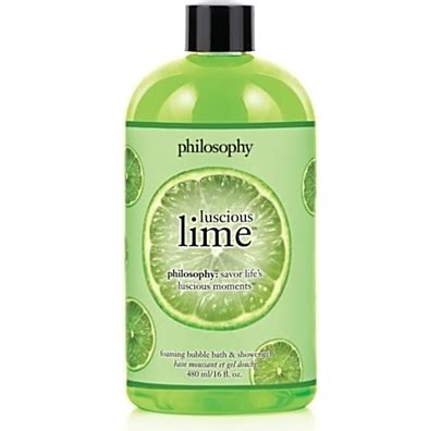 Confessions Of A Philosophy Bath Product by Philosophy Lime Bath Shower Gel 7 Fab