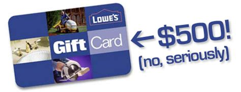 Lowes Gift Card Number - talk about a big blogiversary giveaway we re giving away a 500 lowe s gift card