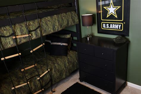army room army themed room demorest designs