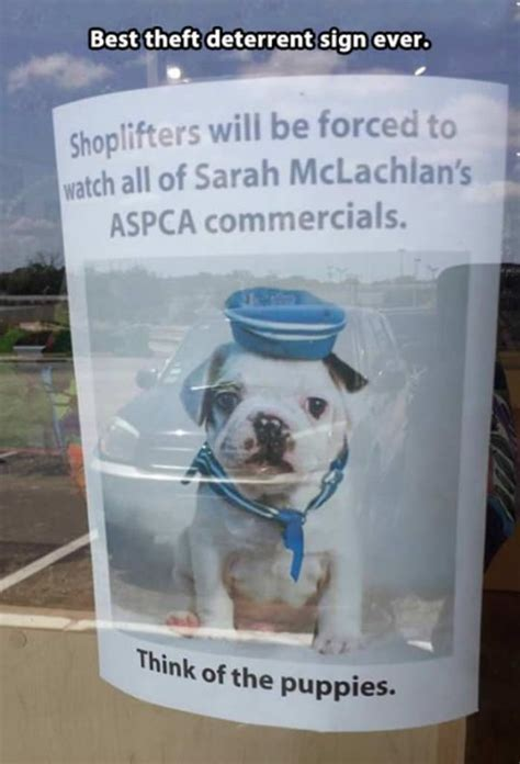Aspca Meme - deterrent sign
