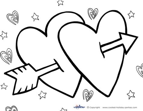 Coloring Pages Printable Coloring Pages Valentines Day Valentines Day Printable Coloring Pages
