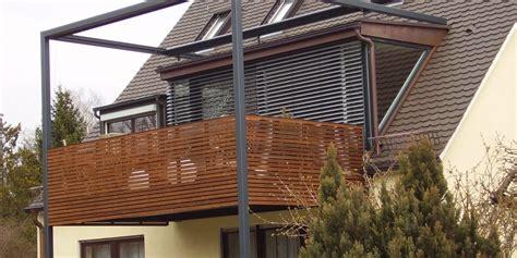 stahlgestell für holz balkone balkongel 228 nder 219 2