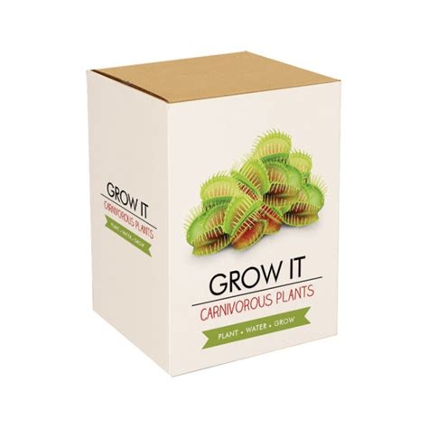 it gifts grow it carnivorous plants iwoot