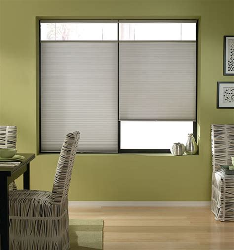 blinds that go up blindsgalore 174 cordless top bottom up cellular shade