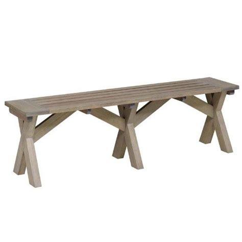 Gartenbank Ohne Lehne Holz