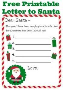 dear santa letter template free printable dear santa letter templates letter of