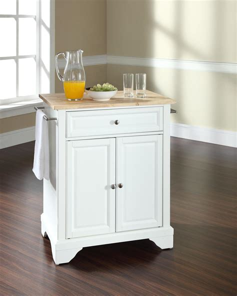 portable islands for kitchens crosley lafayette portable kitchen island by oj commerce kf30021bwh 265 00