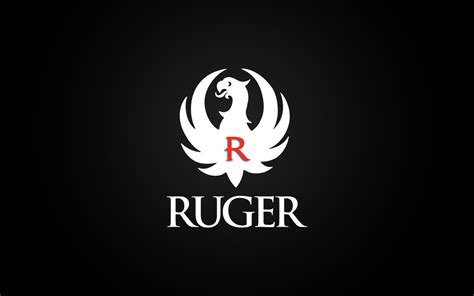 ruger wallpaper with white logo by dhrandy on deviantart