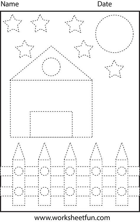 shape tracing templates picture tracing shapes 1 worksheet free printable