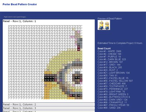 free online blueprint maker 5 free perler bead pattern makers