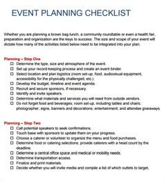 conference event planning checklist template 10 event planning checklist templates free sle