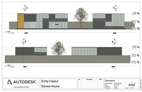 Software Floor Plan eames house emily capaul portfolio