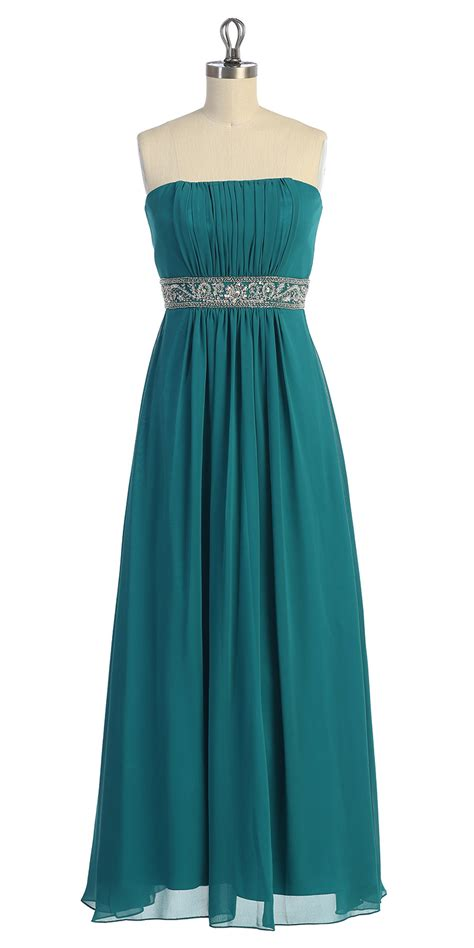 light teal bridesmaid dresses light teal chiffon strapless gathered beaded long dress