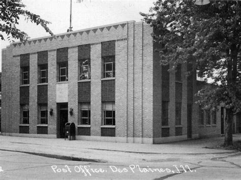 Plaine Post Office by The Des Plaines Post Office 1930 Des Plaines Il Patch