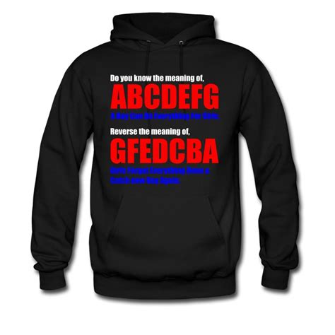 Royal Hoodie Maroon M L Theprime Id the meaning of abcdefg hoodie spreadshirt
