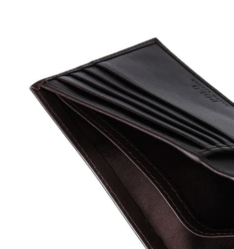 Hoodie Billfold Bisa 1 lyst polo ralph brown smooth leather billfold wallet in brown for