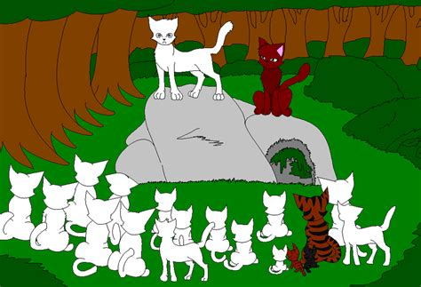 warrior cat clanbase warrior cat clan collab free join my part of it by