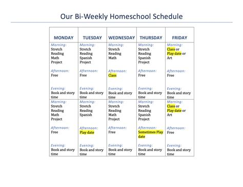 Our 1st Grade Homeschool Schedule And Curriculum Mama Of Letters Second Grade Schedule Template