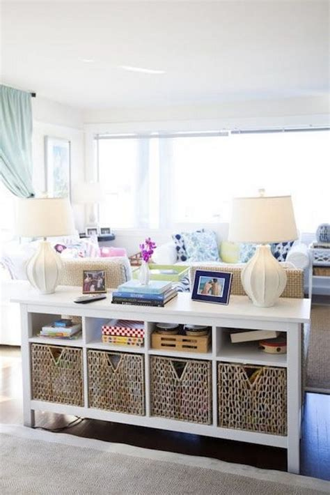 livingroom storage 20 great ways to use of the space for