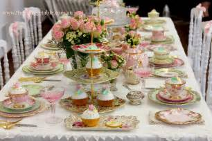 High tea table setting ideas for pinterest