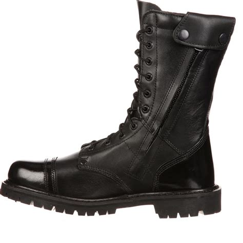 zipper boots rocky s side zipper jump boot ebay