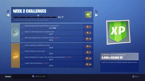 fortnite week 2 challenges fortnite week 2 season 5 challenges fortnite week 2