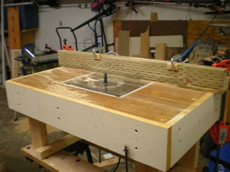 How To Make A Router Table by Mine Wood More Router Table Plans Uk