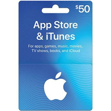 50 app store itunes gift card sam s club - Itunes Store Gift Cards