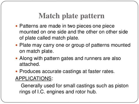 pattern and its types types of pattern and its application