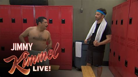 live locker room locker room talk with jimmy kimmel and guillermo