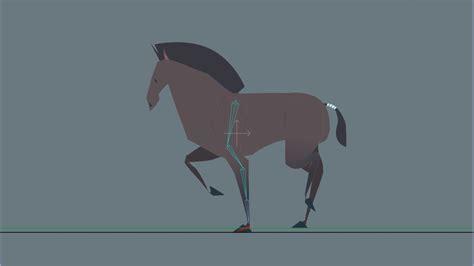 gait   horse animated  behance