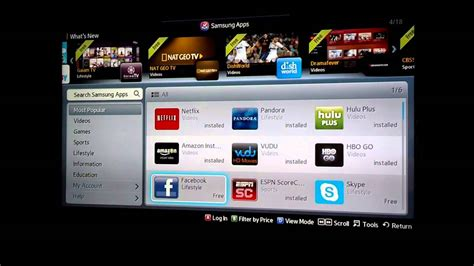 my samsung tv how to install apps on samsung tv