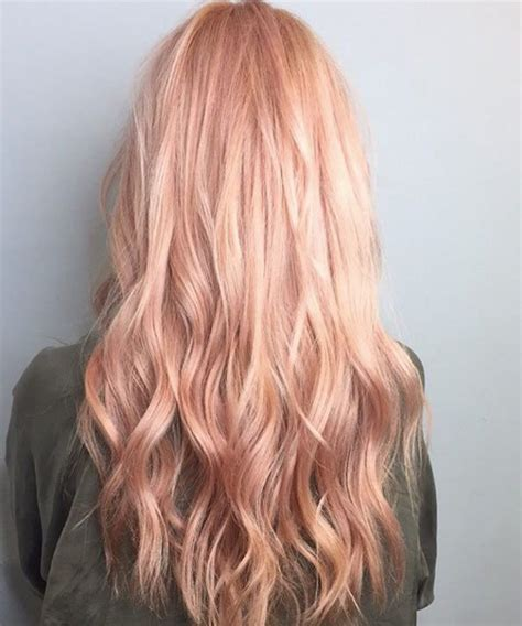 rose gold hair color 25 best ideas about rose gold hair on pinterest gold