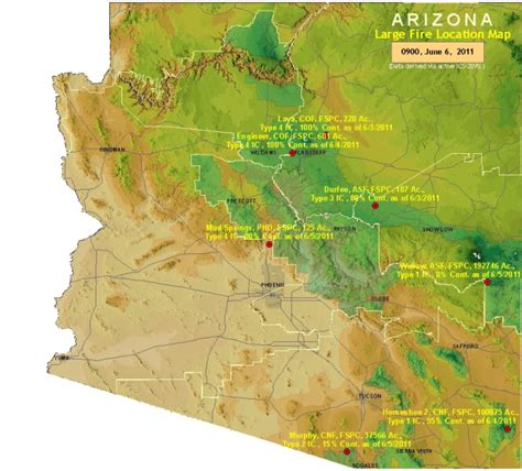 where is arizona located on the map arizona large location map nature in the news