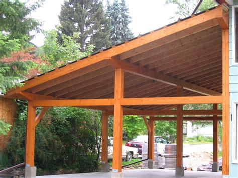 timber framing carport pinterest