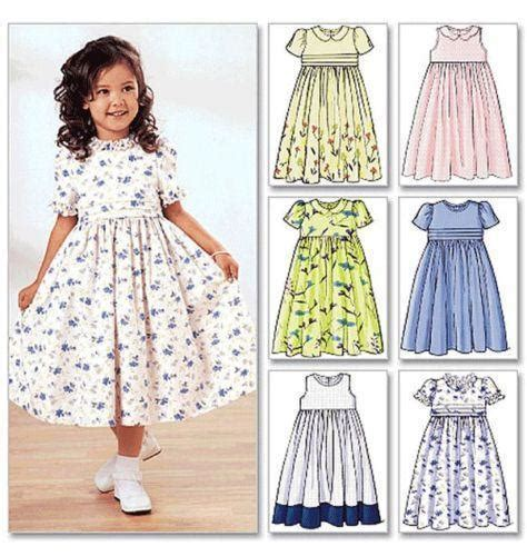 dress pattern ideas girls dress pattern ebay