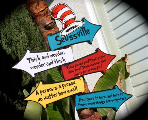 Dr Seuss Wall Mural quotes from the cat in hat printable quotesgram