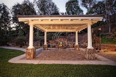 Free Standing Wood Tellis Patio Covers Gallery Western