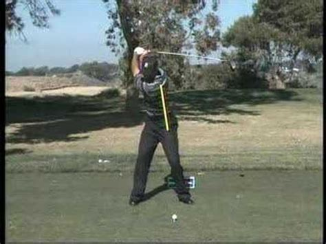 tiger woods swing vision tiger woods swingvision down line 1 funnycat tv