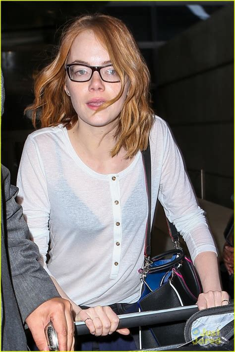 emma stone with glasses emma stone andrew garfield are officially back on