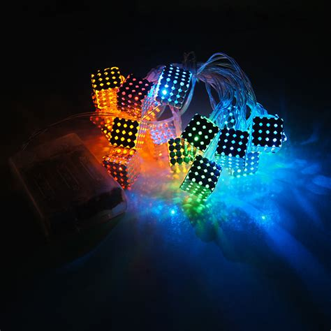 brand new magic dream color box 20 square led festival