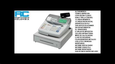 Mesin Kasir Casio Te 2200 casio te 2200 caja registradora programacion b 193 sica pbx