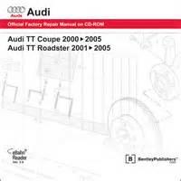 manual repair free 2001 audi tt auto manual 2000 2006 audi tt coupe 2001 2006 audi tt roadster official factory repair manual on dvd rom