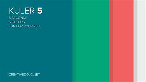 kuler color kuler 5 relaunch creativedojo