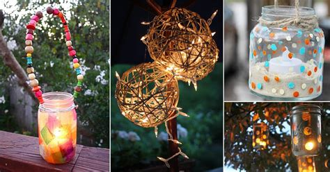 diy garden lantern ideas  add life   outdoor